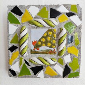 mosaik til væggen