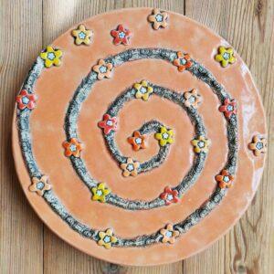 trædesten i keramik til haven